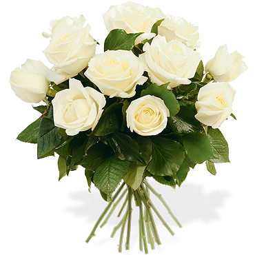 Bouquets de roses for Bouquet de roses blanches